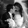 les mariés dans un troquet parisien (75)