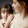 portrait femme et enfant avant le mariage