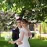 couple mariage Paris dans un jardin