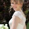 La mariée avec son bouquet (Seine et marne)